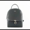 Kép 1/2 - David Jones női divat hátizsák, fekete-szürke