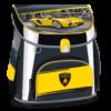 Kép 1/12 - Ars Una Lamborghini kompakt easy mágneszáras iskolatáska