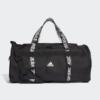Kép 1/4 - Adidas sporttáska 4A THLTS DUF M, fekete-fehér