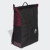 Adidas hátizsák CLAS BP TOP ZIP, fekete-bordó