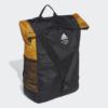 Kép 2/5 - Adidas hátizsák CLASSIC BP FLAP, fekete-mustár