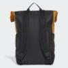 Kép 3/5 - Adidas hátizsák CLASSIC BP FLAP, fekete-mustár
