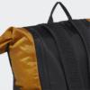 Kép 4/5 - Adidas hátizsák CLASSIC BP FLAP, fekete-mustár