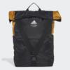 Kép 1/5 - Adidas hátizsák CLASSIC BP FLAP, fekete-mustár