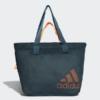 Kép 1/7 - Adidas W ST TOTE MS női fitness táska, zöld-narancs
