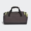 Kép 2/7 - Adidas sporttáska 3S DUFFLE S, sötétszürke-UV sárga