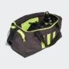 Kép 4/7 - Adidas sporttáska 3S DUFFLE S, sötétszürke-UV sárga