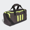 Kép 3/7 - Adidas sporttáska 3S DUFFLE S, sötétszürke-UV sárga