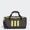 Kép 1/7 - Adidas sporttáska 3S DUFFLE S, sötétszürke-UV sárga