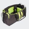 Kép 3/6 - Adidas sporttáska 3S DUFFFLE M, sötétszürke-UV sárga