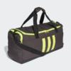 Kép 1/6 - Adidas sporttáska 3S DUFFFLE M, sötétszürke-UV sárga