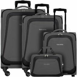 Travelite Naxos bőrönd szett, szürke