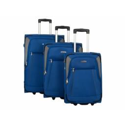 Travelite Portofino bőrönd szett, király kék