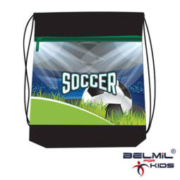 Belmil tornazsák hálós és zsebes, Soccer Championship
