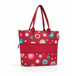 Reisenthel Shopper e1, funky dots 2/piros