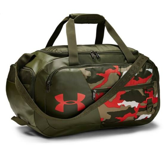 Under Armour  Undeniable Duffel 4.0 SM sporttáska, khaki-narancs