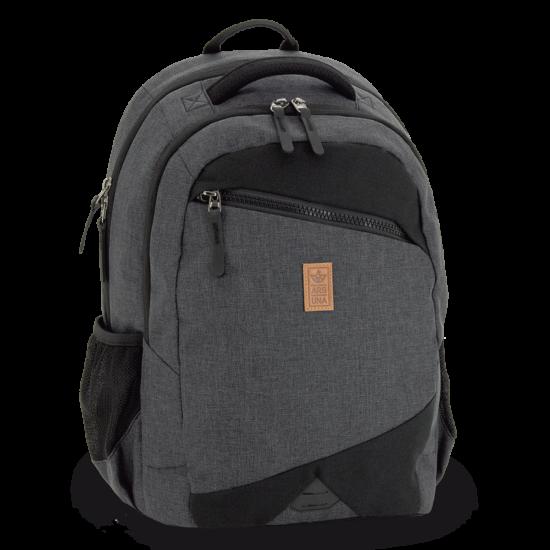 Ars Una ergonomikus hátizsák, AU-26 szürke-fekete