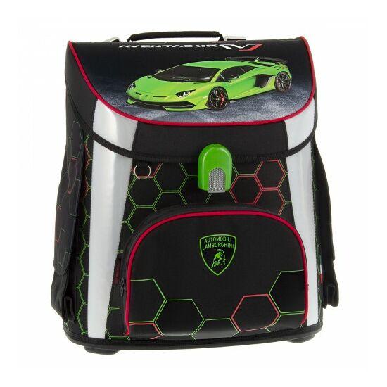 Ars Una Lamborghini kompakt easy mágneszáras iskolatáska, zöld