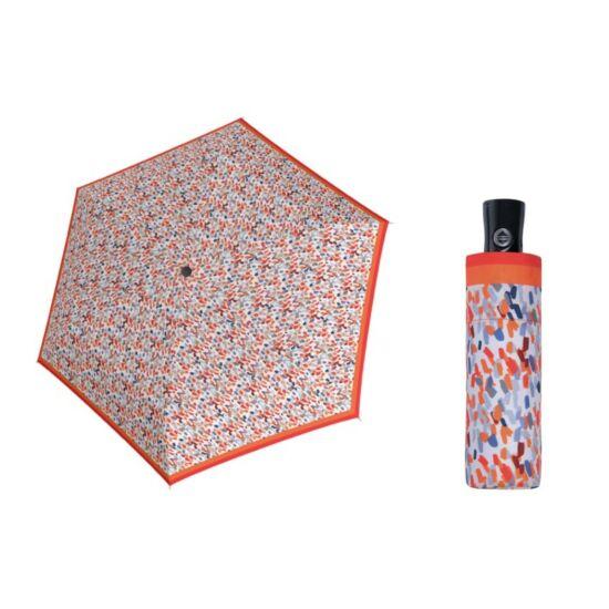 DOPPLER Fiber Magic XS Sprinkle automata női esernyő, narancs mintás