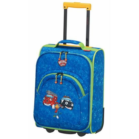 Travelite Helden der Stadt, 2 kerekű gyerek bőrönd S, kék