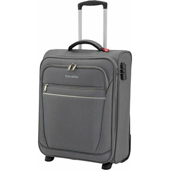 Travelite Cabin S bőrönd, szürke