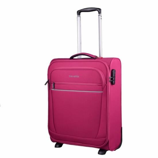 Travelite Cabin S bőrönd, fukszia