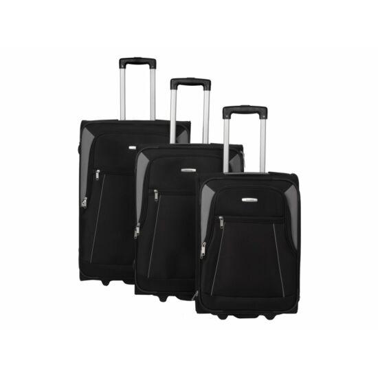 Travelite Portofino bőrönd szett, fekete