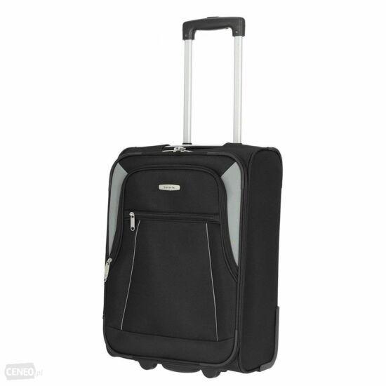 Travelite Portofino S kabin bőrönd, fekete