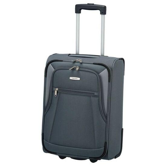 Travelite Portofino S kabin bőrönd, szürke