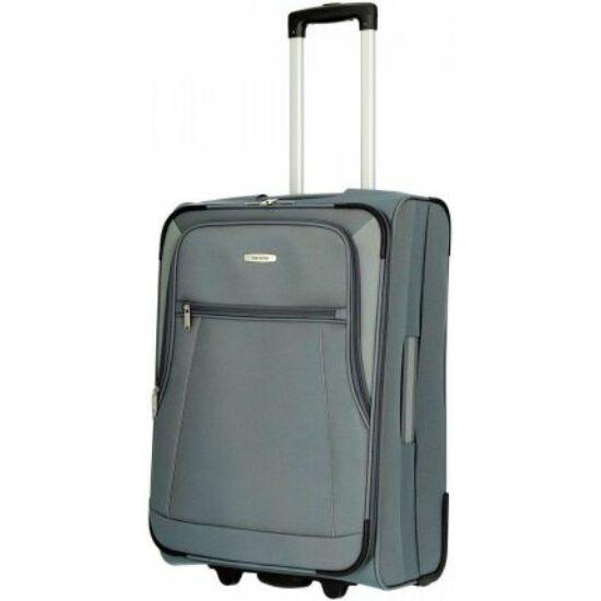 Travelite Portofino M bőrönd, szürke