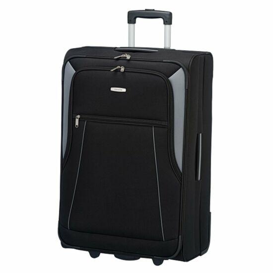 Travelite Portofino L bőrönd, fekete