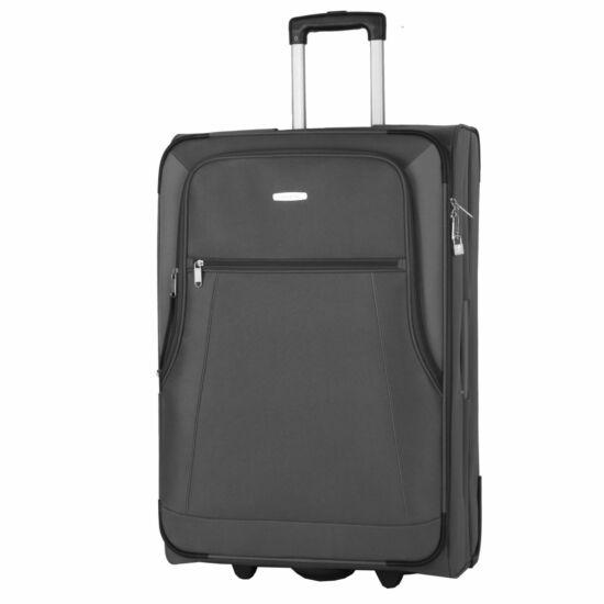 Travelite Portofino L bőrönd, szürke