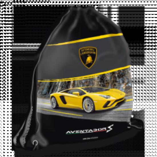 Ars Una Lamborghini sárga sportzsák