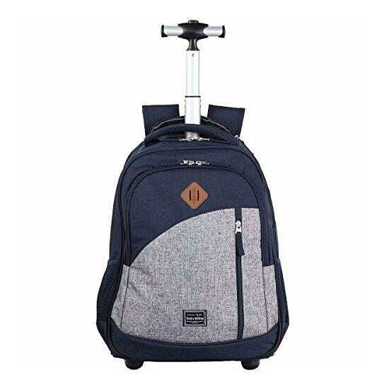 Travelite Basics Trolley hátizsák, kék
