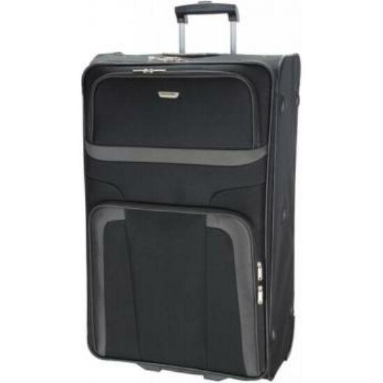 Travelite Orlando L bőrönd, fekete