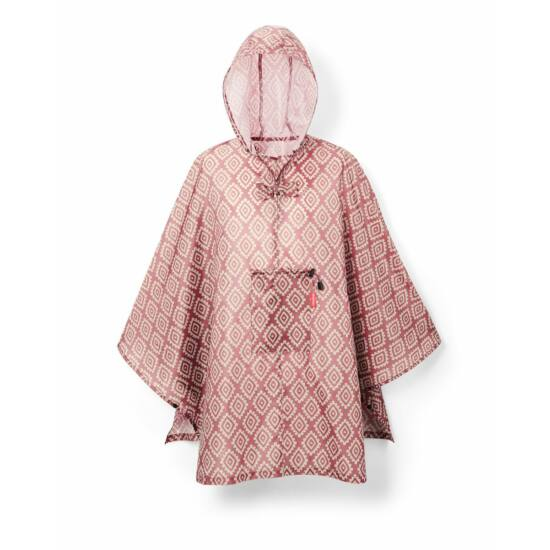 Reisenthel Poncho, diamonds rouge