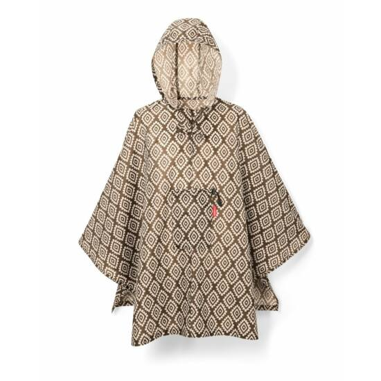 Reisenthel Poncho, diamonds mocha