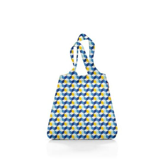 Reisenthel mini maxi shopper, kék kocka