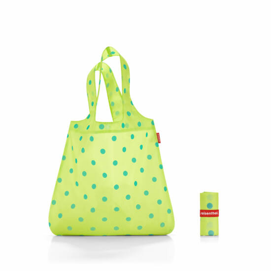 Reisenthel mini maxi shopper, lemon dots