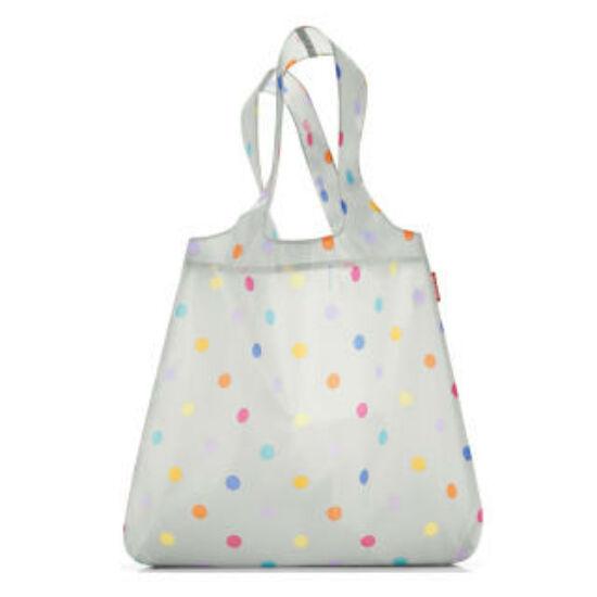 Reisenthel mini maxi shopper, stonegrey dots
