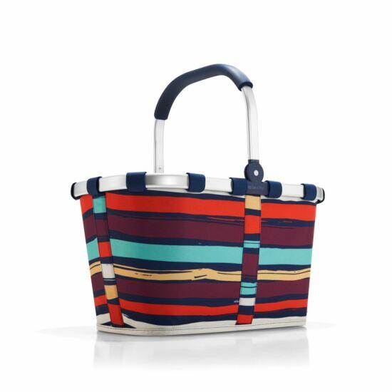 Reisenthel Carrybag kosár,  artist stripes