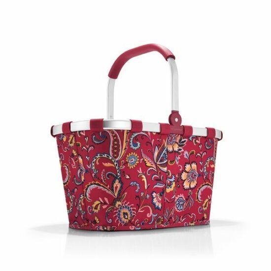Reisenthel Carrybag kosár, paisley ruby