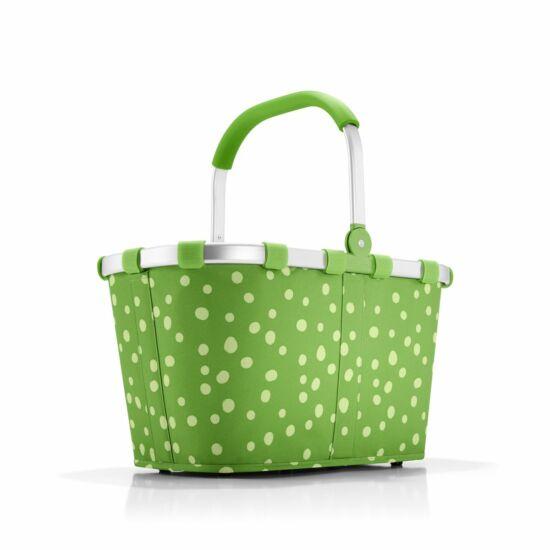Reisenthel Carrybag kosár,  green dots