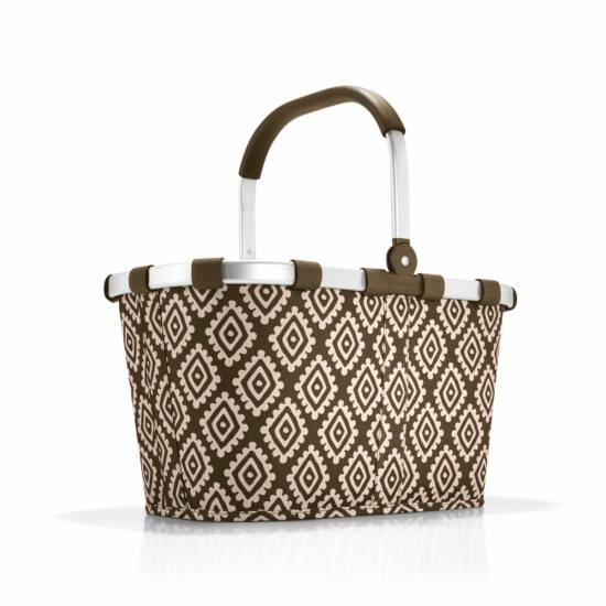 Reisenthel Carrybag kosár,  diamonds mocha