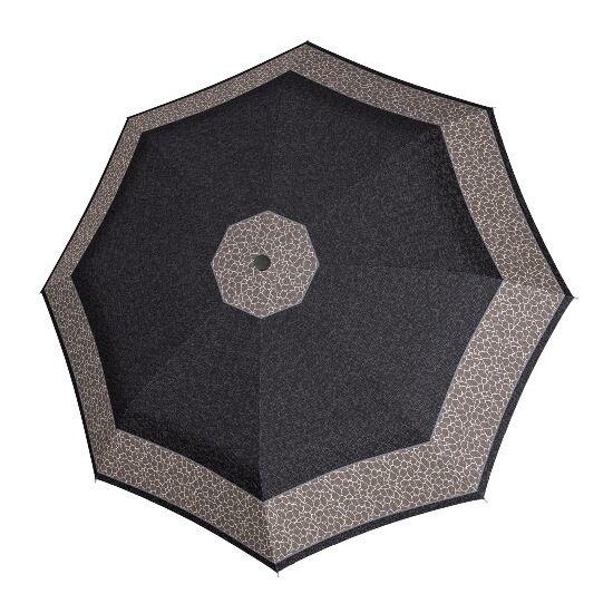 DOPPLER Fiber Classic félautomata esernyő, barna