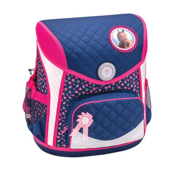 Belmil Cool Bag merev falú iskolatáska, Blue Riding Horse