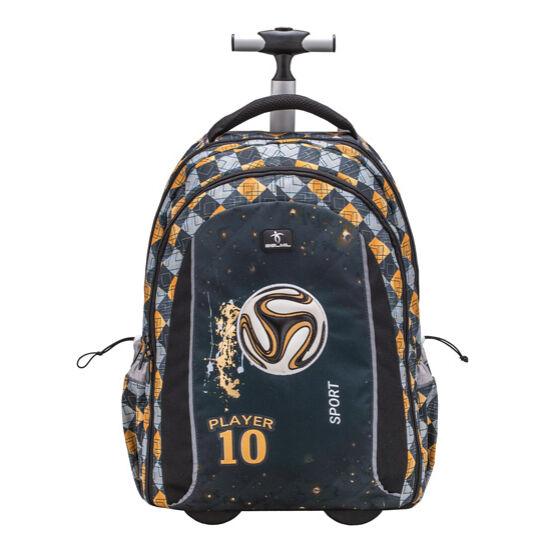 Belmil Easy go trolley és hátizsák egyben, Football 10