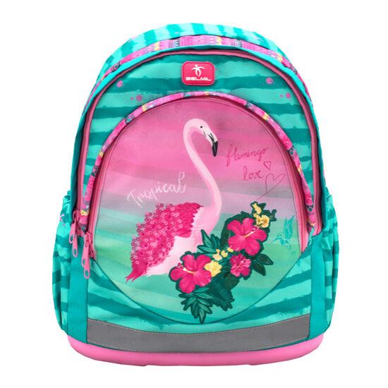 Belmil Leisure anatómiai hátizsák, Pink Flamingo