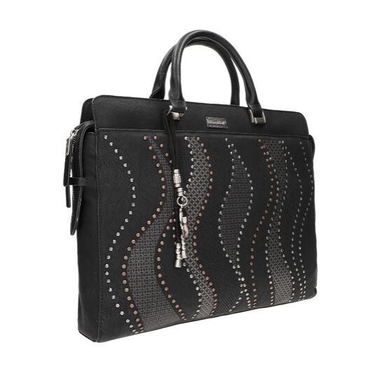 Kimmidoll Saya, Üzleti táska hosszú vállpánttal, fekete