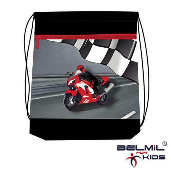 Belmil tornazsák hálós és zsebes, Free Racing